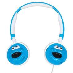 Cookie Monster headphones