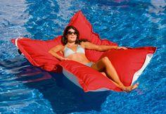 Oversized floating lounge - yes please!