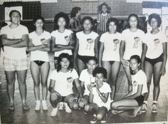 Time de Vôlei do São José, nos anos 70.