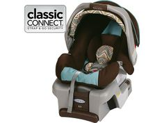 SnugRide® Classic Connect™ 30 Infant Car Seat, Viceroy™ - Graco (the other choice of a narrowest infant car seat)