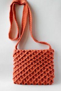 Крокодиловая сумка крючком tutorial