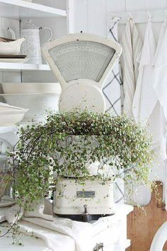 Shabby Chic Decor Sunroom all Shabby Chic Decor Banners around Home Decor Ideas Diy India; Shabby Chic Style Lighting within Home Decor Sale Websites French Country Farmhouse, French Cottage, French Country Decorating, Farmhouse Chic, Cottage Style, Table Farmhouse, Side Table Decor, Vibeke Design, Vintage Decor