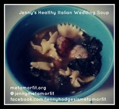 Jennys Healthy Italian Wedding Soup