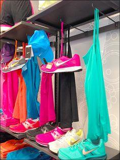 Shoe, Cap, & Camisole Shoes, Cap, and Camisole 90 Degree Tip Hooks Hooks, Camisole, Retail, Cap, Shoe, Display Ideas, Window, Color, Baseball Cap
