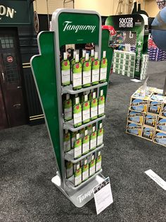 Tanqueray Free Standing Unit - Looking to get noticed with your point of sale display in a busy, fast-paced retail environment? Increase confidence in your sales with www.popthis.com.au