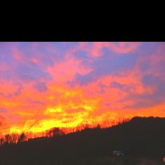 Fire on the mountain..