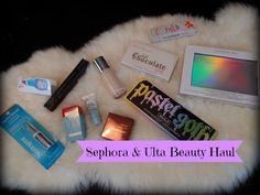 Sephora & Ulta Beauty Haul W/ Swatches- Pastel Goth Palette & More