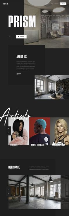타이포그래피 느낌  / 폰트활용잘함 Web Portfolio, Portfolio Layout, Portfolio Design, Fashion Web Design, Web Design Trends, Fashion Trends, Web Layout, Layout Design, Site Inspiration