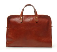 Leather briefcase by Steve Mono featured at www.thefanzynet.com