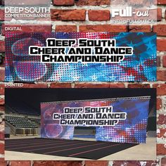 From digital to real life! Check out the new backdrop banner for @deepsouthspirit !! Printed beautifully! Good luck to everyone competing at this competition today!  #cheer #cheerleader #cheerleading #cheercomp #competition #banner #backdrop #vinyl #unique #og #original #custom #creative #creativeminds #design #designer #graphicart #graphicdesign #art #reallife #brand #branding #socialmedia #socialmediamarketing #marketing #fullout by _fullout