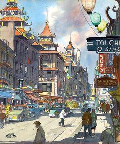 Chinatown, c. 1950s