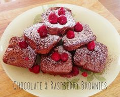 In my previous post for Raspberry & Pear Loaf I mentioned why I had decided to make a few recipes with raspberries.This recipe for Chocolate & Raspberry Brownies is so quick and easy to make that it will become a family favourite in no time.INGREDIENTS125 gm butter, chopped2 Cups Chocolate (