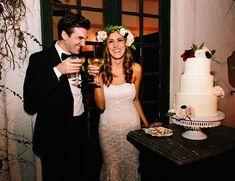Burgundy Villa Wedding in San Juan Capistrano - Inspired By This