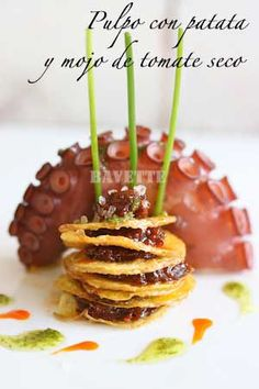 My Favorite Food, Favorite Recipes, Tapas Menu, Salty Foods, Food Decoration, Chef Recipes, Recipies, Appetisers, Sweet And Salty