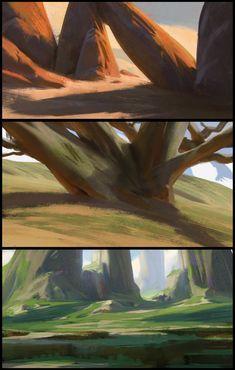 Color sketches, florent lebrun on ArtStation at http://www.artstation.com/artwork/color-sketches