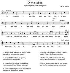 Lied kennenlernen