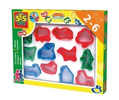 SES Creative Childrens Super Clay Cutters Set 12Pack *** Read more at the image link.-It is an affiliate link to Amazon. #ClayandDought