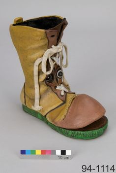 "Boot puppet by Noreen Young, from the Canadian television series ""Readalong"""