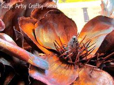 Create a Faux Copper Wreath