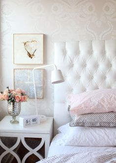 Cute bedroom idea!
