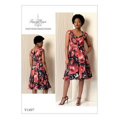 Vogue Patterns V1497 (6-8-10-12-14)