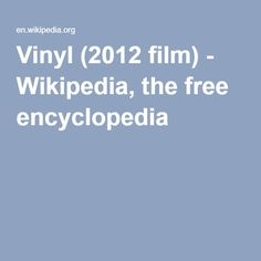 """Vinyl (2012 film) - a British comedy film written and directed by Sara Sugarman. It is based on the true story of Mike Peters and The Alarm who in 2004 released the single """"45 RPM"""" under the name of a fictitious band """"The Poppy Fields"""".[1] The film features a number of past pop and rock stars in cameo roles, such as Steve Diggle (Buzzcocks), Jynine James, Mike Peters and Tim Sanders (The City Zones), along with the actors Phil Daniels, Keith Allen, Perry Benson, Jamie Blackley..."""