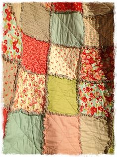 Rag Quilt California King Size