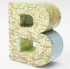 A Personalised 3D Map Letter