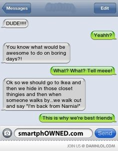 I NEED someone to do this with me.