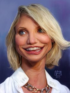 Cameron Diaz by Vincenzo