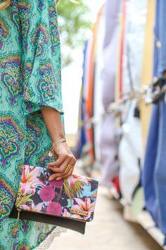 Tropical clutch, summer fashion, hawaii, tropical print, summer clutch, surf, beach wear,