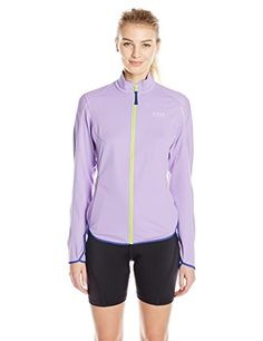 GORE BIKE WEAR Womens Countdown Windstopper Soft Shell Light Jacket VioletSpeed Blue Medium * Want additional info? Click on the image. (This is an affiliate link) #CyclingClothing