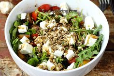 Arrugula salad with seeds5.JPG