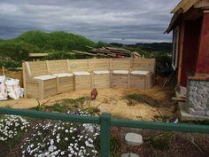 Combined Garden Modular Seating / Retaining Wall / Storage