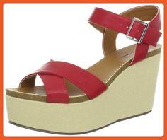 Michael Antonio Women's Gansa Wedge Sandal,Pink,5.5 M US - Sandals for women (*Amazon Partner-Link)