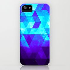 Glitteresques III iPhone & iPod Case by Rain Carnival - $35.00 #iphone #samsung #case #skin #glitter #triangles #abstract