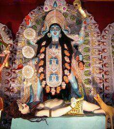 Kali Puja festival in Kolkata.