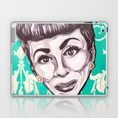 Mommie Dearest Laptop & iPad Skin by Portraits on the Periphery   - $25.00