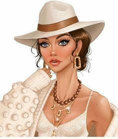 Black Girl Art, Art Girl, Girl Cartoon, Cartoon Art, Fashion Images, Fashion Art, Fashion Capsule, Female Images, Lady Images