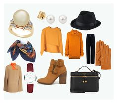 """""""It's alright for fall and winter"""" by eloisenoyen ❤ liked on Polyvore featuring Marni, IRO, Steve Madden, Hermès, Uniqlo, Marques'Almeida, Joseph, Henri Bendel, Burberry and UGG"""