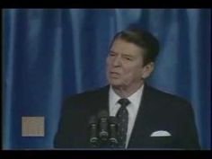 "March 8, 1983  U.S. President Ronald Reagan calls the Soviet Union an ""evil empire""."