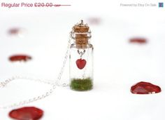 Birthday Sale Valentine Heart in a Jar by PeachesandPebbles, £15.80