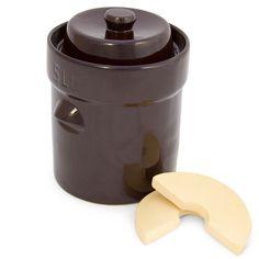 Fermenting Crock 5 Liter Homemade Sauerkraut Maker German Style Pickles Kimchi #TSMProducts