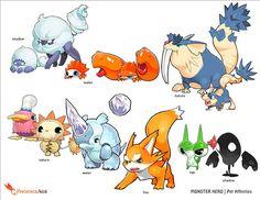 Pokemon Fan Art, Oc Pokemon, Pokemon Comics, Game Character Design, Character Creation, Character Concept, Character Art, Creature Concept Art, Creature Design