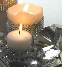 candle bling simple and inexpensive...I think:)