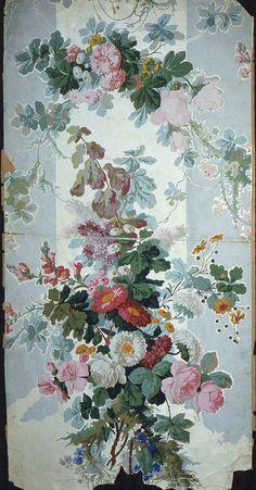 wonderful old wallpaper