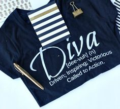 """Never try to fit in because we were all born to stand out.""  #Diva #DivaTees #DivatudeCollection #DivaDefined"