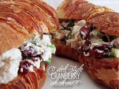 Deli-Style Cranberry Chicken Salad - A Teaspoon of Happiness