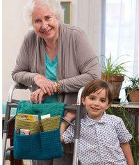 The Best Crochet Walker Organizer