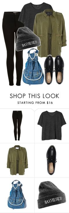 """""""The A Team"""" by herllequin ❤ liked on Polyvore featuring moda, Topshop, Monki y River Island"""